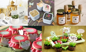 10 IDEE PER LE BOMBONIERE O WEDDING FAVORS